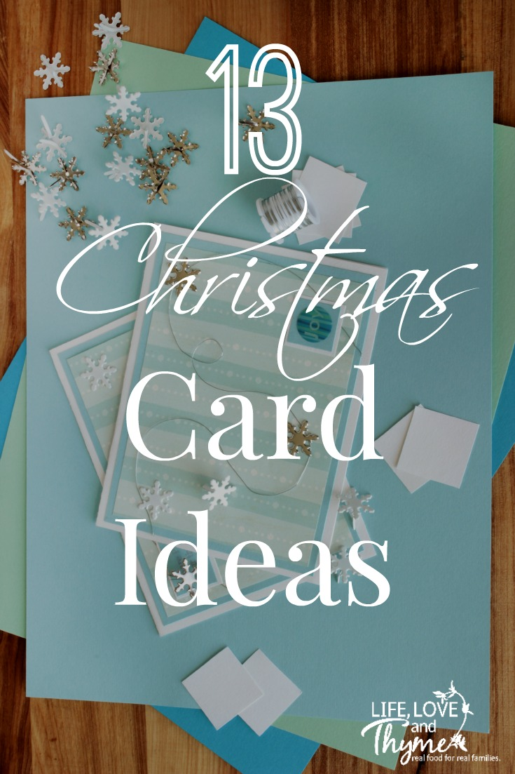13 Handmade Christmas Card Ideas