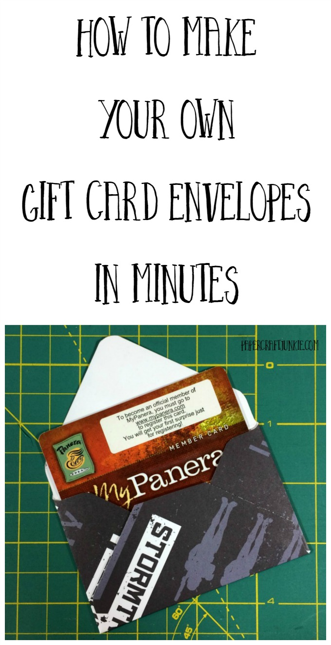 How to Make Your Own Gift Card Envelopes in Minutes