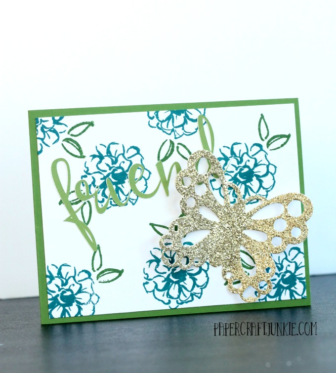 Stampin Up What I Love Stamp Set - Friendly Flowers