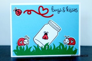 Lawn Fawn Bugs and Kisses