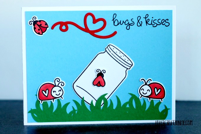 Lawn Fawn Bugs and Kisses - One of the cutest stamp sets ever!